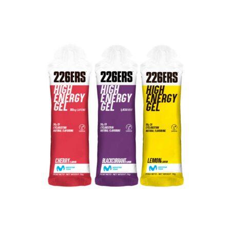 HIGH ENERGY GEL · Producto 226ERS · Suplementación y Nutri