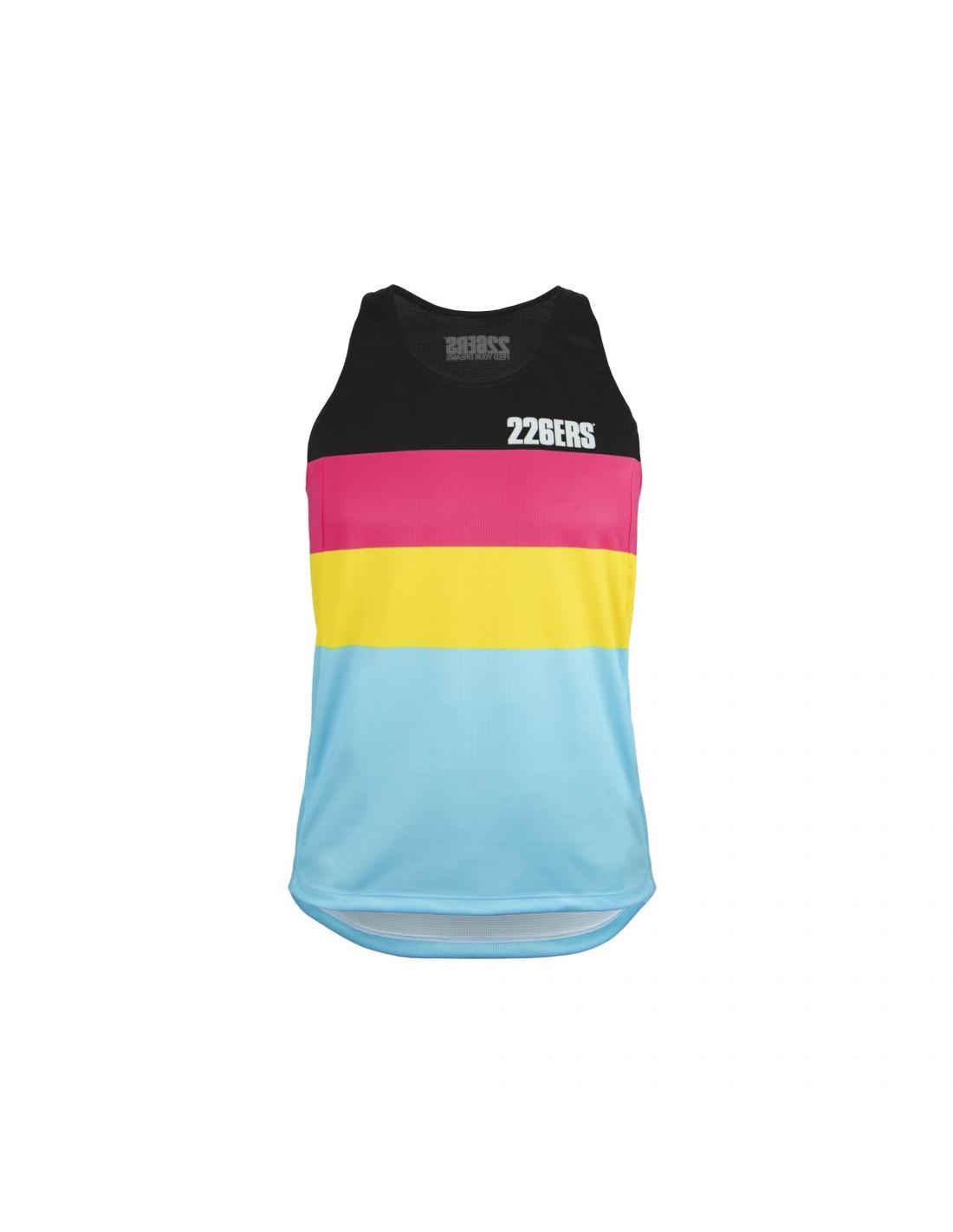 Camiseta Hidrazero Black Asillas · Producto 226ers · Textil Running · Kukimbia Shop - Tienda Online